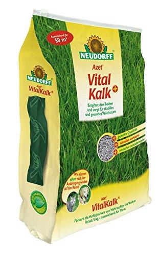 Neudorff Azet Vitalkalk und kohlensaurer Kalk für die Bodenfruchtbarkeit entgiftend schnell wirksam 5 Kg 1,39 EUR/1 Kg