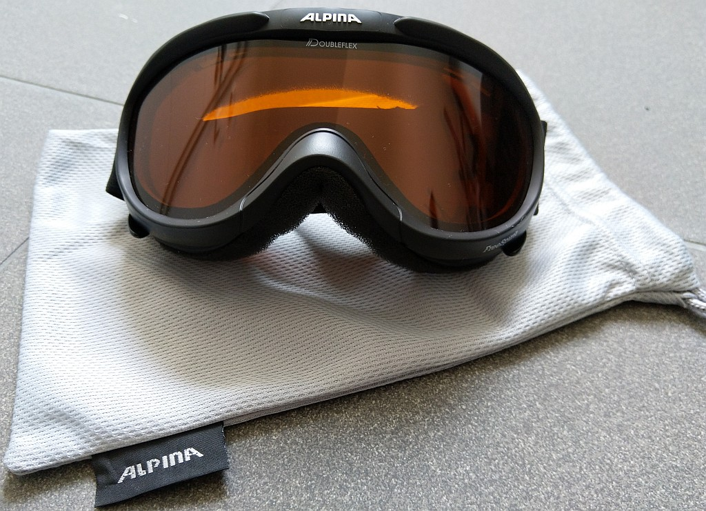 """Alpina Skibrille """"Freespirit"""" Doubleflex für Damen und Herren"""