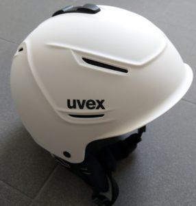 UVEX P1us 2.0 Skihelm für Damen und Herren in weiß