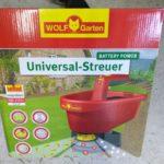 WOLF-Garten Universalstreuer WE-B für Sand, Salz, Dünger & mehr