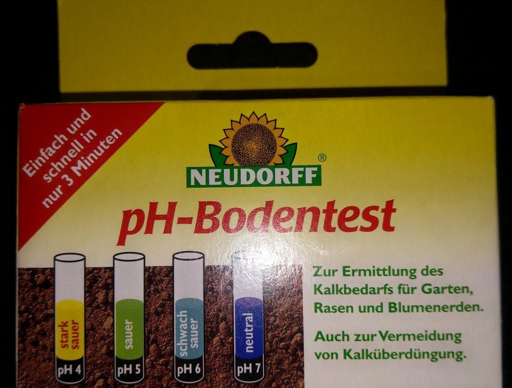 Neudorff ph-Bodentest zur einfachen und schnellen Bestimmung des Kalkbedarfs