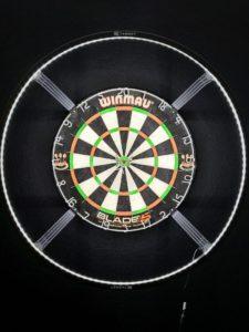 Target Darts Corona Vision Dartboard-LED-Beleuchtungssystem
